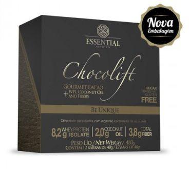 Chocolift Be Unique Essential Nutrition Box 12 Unidades