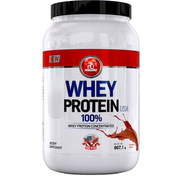 Whey Protein USA Midway 907g Chocolate