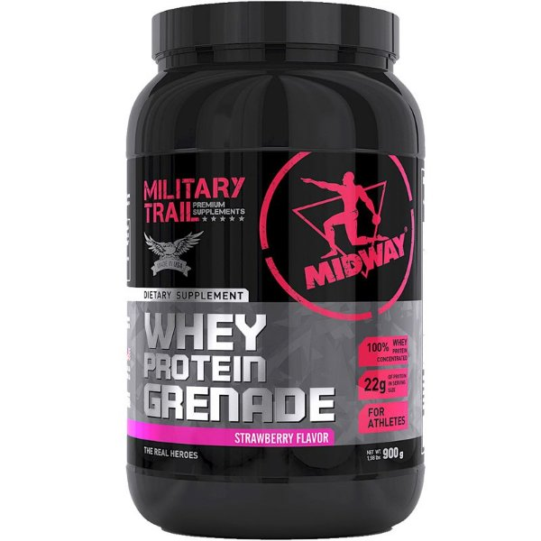 Whey Protein Grenade Midway 900g Morango