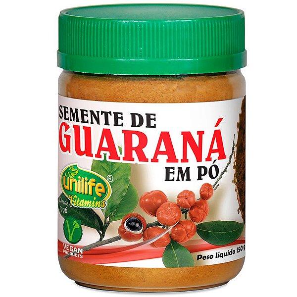 Guaraná em pó puro 150g Unilife