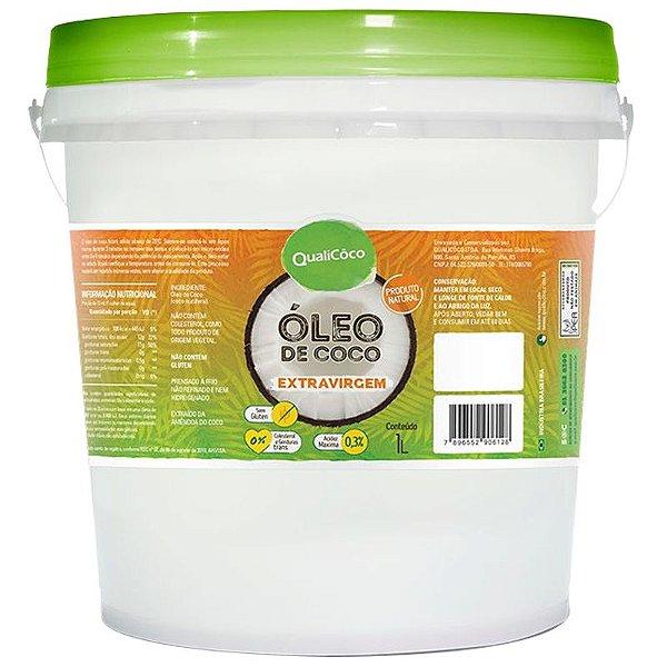 Óleo de coco Extra Virgem Qualicoco 1 litro