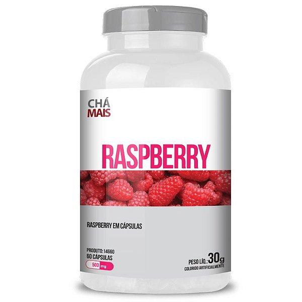 Raspberry 500mg Chá Mais 60 cápsulas