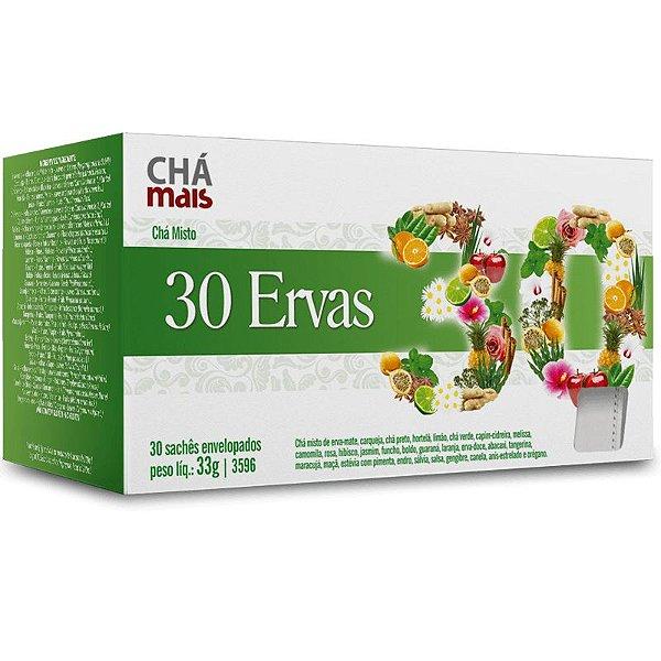 Chá 30 ervas Chá Mais 30 sachês