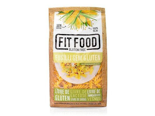 Massa Milho s/ Gluten Fusilli 500g FIT FOOD