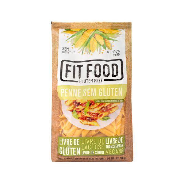 Massa Milho s/ Gluten Penne 500g FIT FOOD