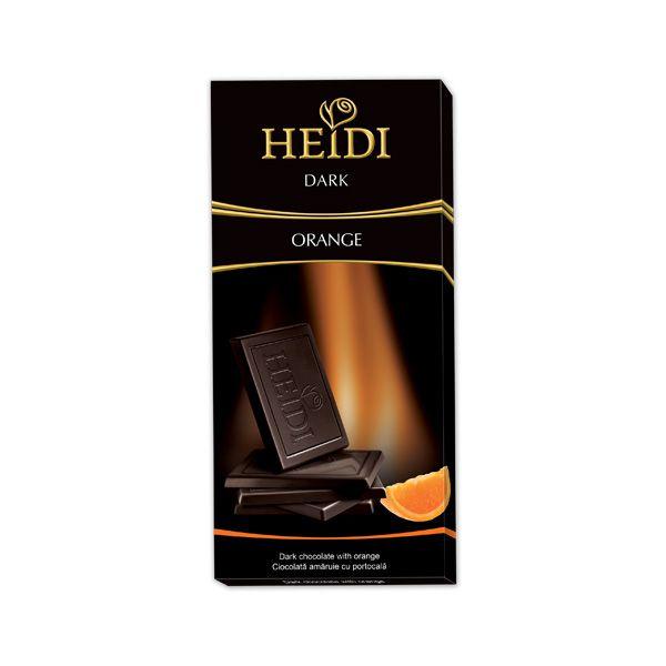 Chocolate Amargo Laranja 80g HEIDI