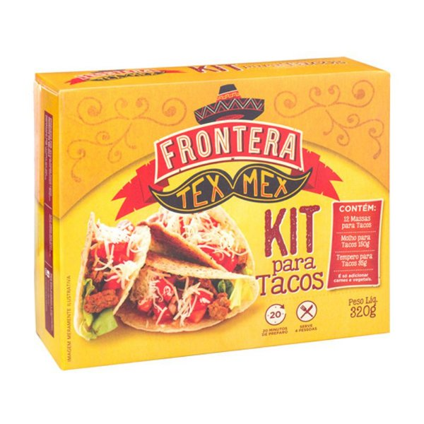 Kit p/ Tacos 320g FRONTERA