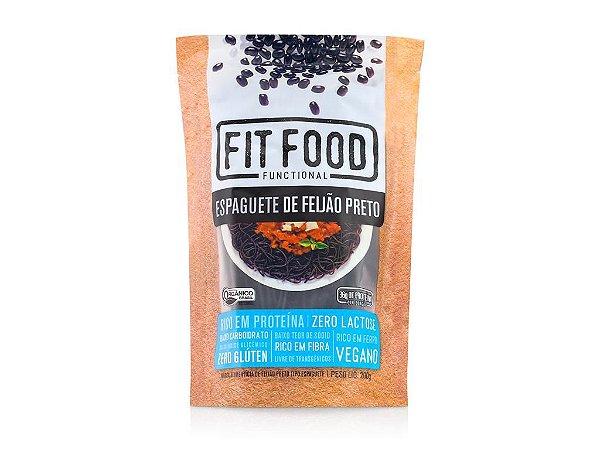Espaguete de Feijão Preto 200g FIT FOOD