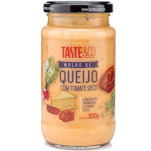 Molho de Queijo c/ Tomate Seco 300g TASTE & Co