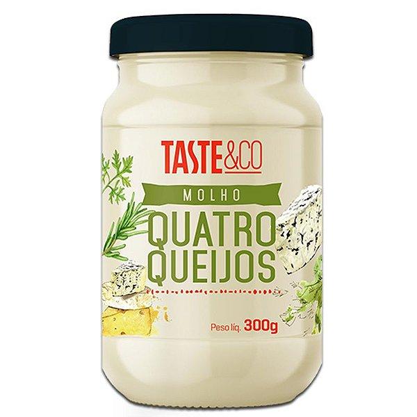 Molho Quatro Queijos 300g TASTE & Co