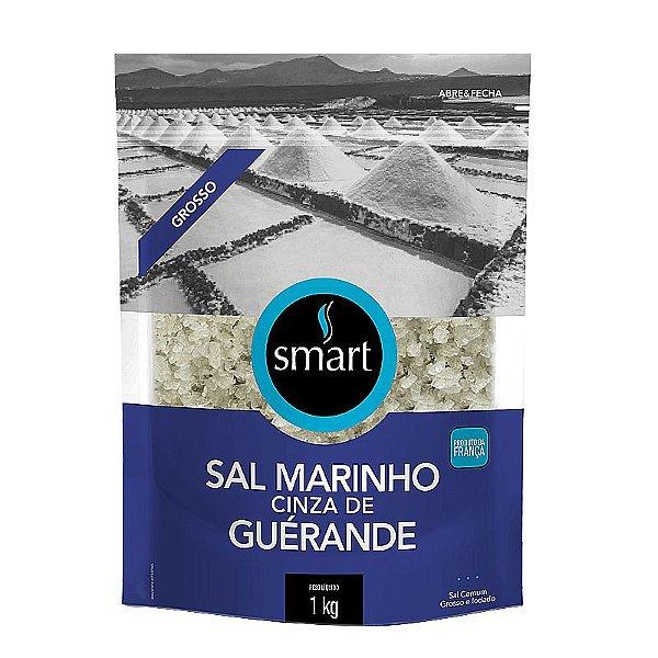 Sal Marinho Cinza Grosso 1Kg SMART