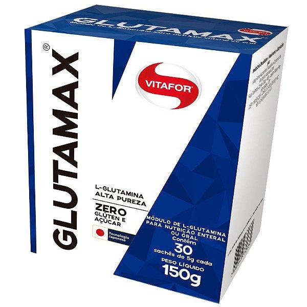 Glutamina Glutamax Vitafor 30 saches de 5g