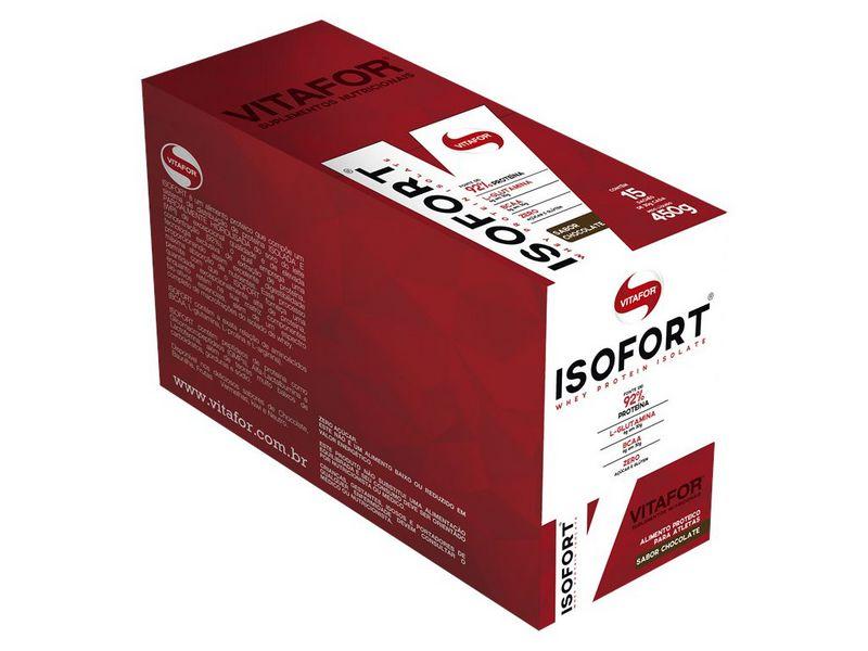 Whey Protein Isofort Vitafor 15 saches Chocolate