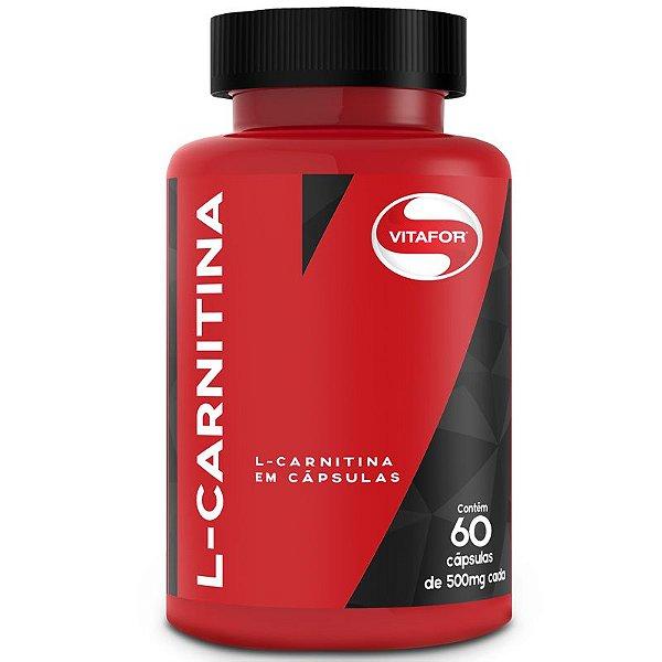 L-Carnitina em pó Vitafor 60 cápsulas
