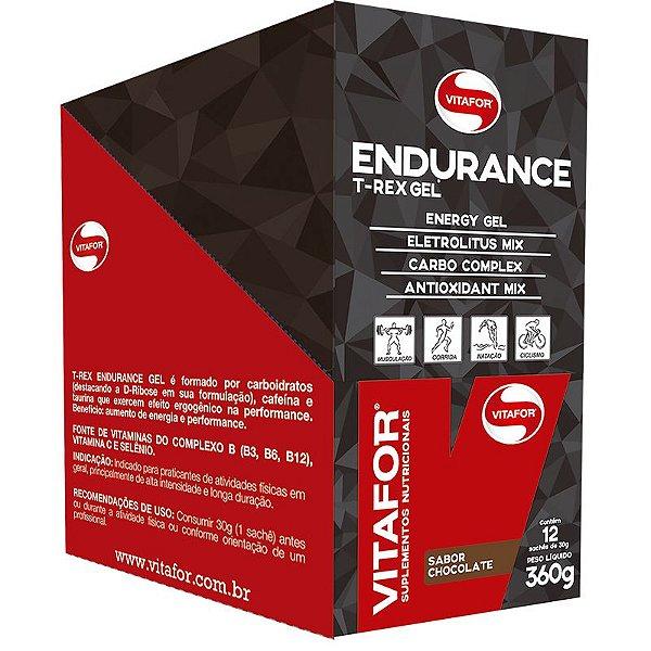 Endurance Gel Carboidrato Vitafor 12 saches Chocolate