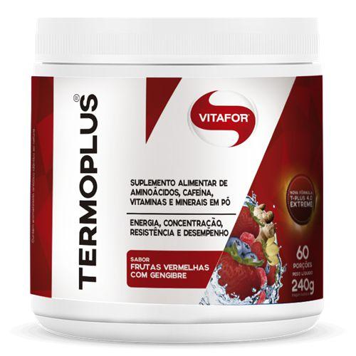 Termo Plus Termogênico Vitafor 240g Frutas Vermelhas