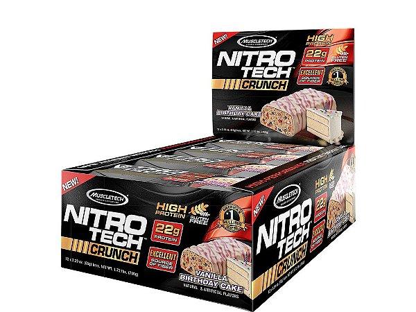 Nitro tech Crunch Bar Muscletech Birthday Cake