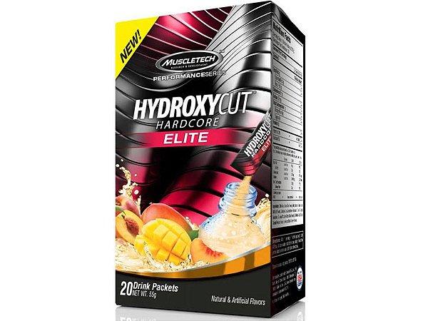 Hydroxycut Hardcore Elite Têrmogênico Muscletech 20 sachês