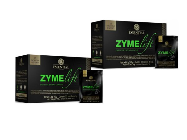 Kit - 2 Zyme Lift Essential Enzimas Digestivas 30 Sachês