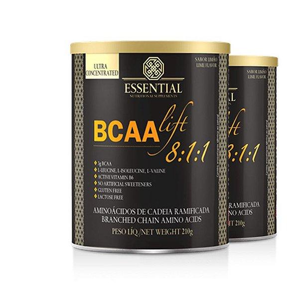 Kit - 2 BCAA Lift 8:1:1 Essential Limão 210g