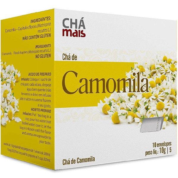 Chá Camomila Chá Mais 10 sachês 10g