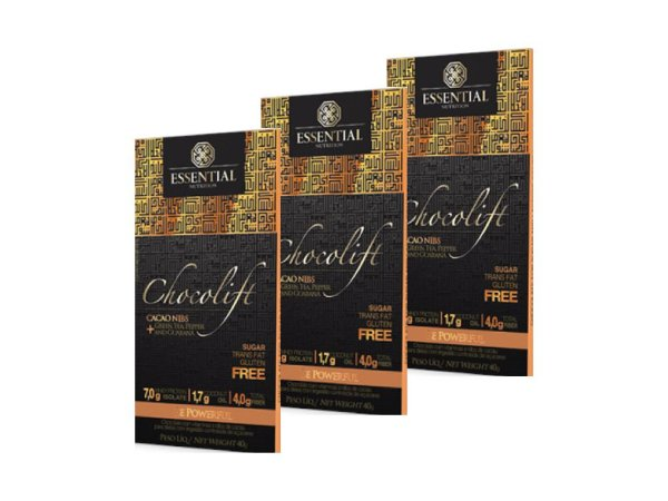 KIT 3 CHOCOLIFT BE POWERFUL CACAO NIBS ESSENTIAL NUTRITION