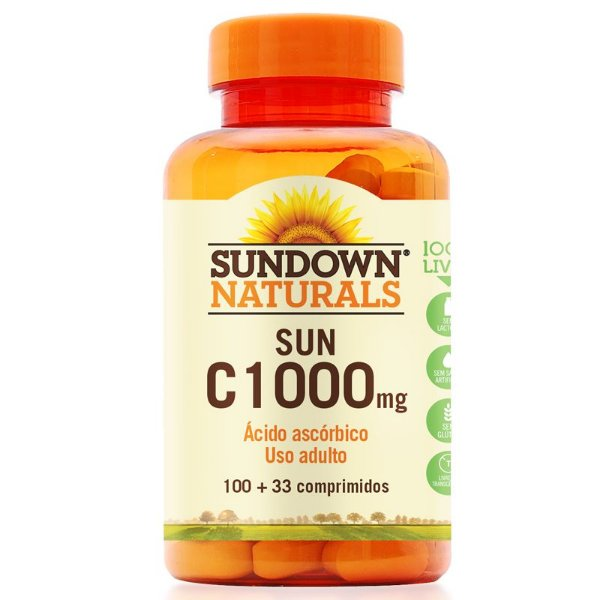 Vitamina C 1000mg Sundown 100 Tablets