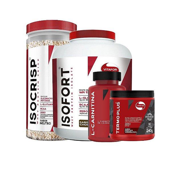 Kit definição de massa muscular Vitafor