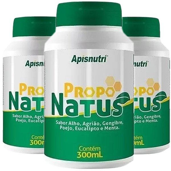 Kit 3 Propo Natus Sabores Apisnutri 300ml