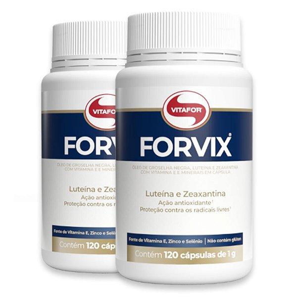 Kit 2 Forvix Vitafor 120 cápsulas