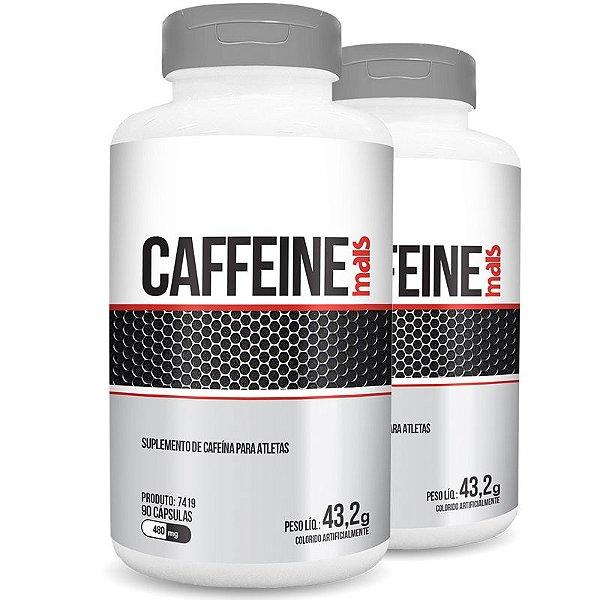Kit 2 Cafeína Caffeine 480mg Chá Mais 90 cápsulas