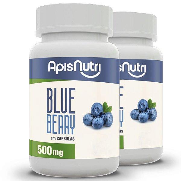 Kit 2 Blueberry Apisnutri 120 cápsulas