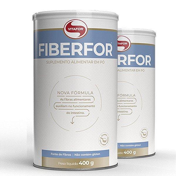 Kit 2 Fiberfor Fibras Alimentares Vitafor 300g