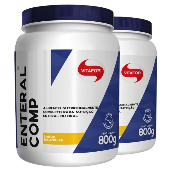 Kit 2 Enteral Completo Vitafor 800g