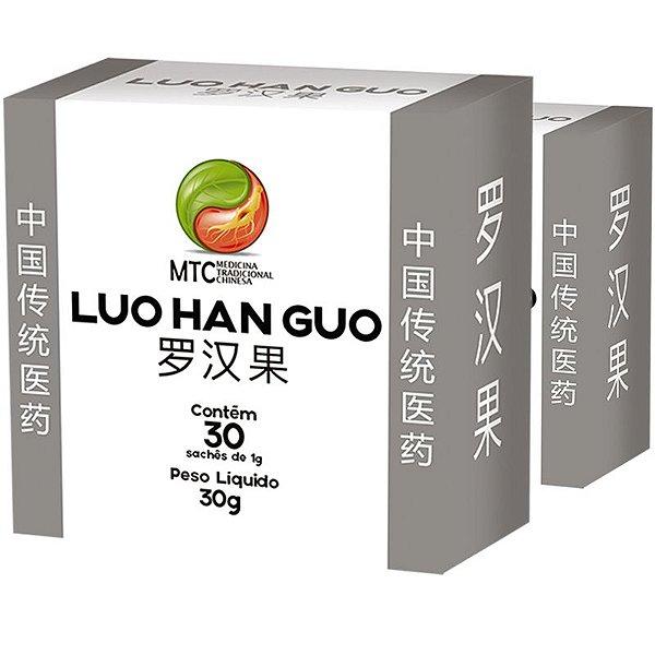 Kit 2 Monk Fruit MCT Luo Han Guo Vitafor 30 sachês