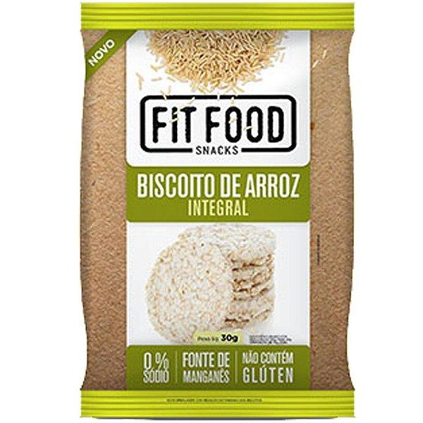 Biscoito de Arroz Natural 30g Fit food