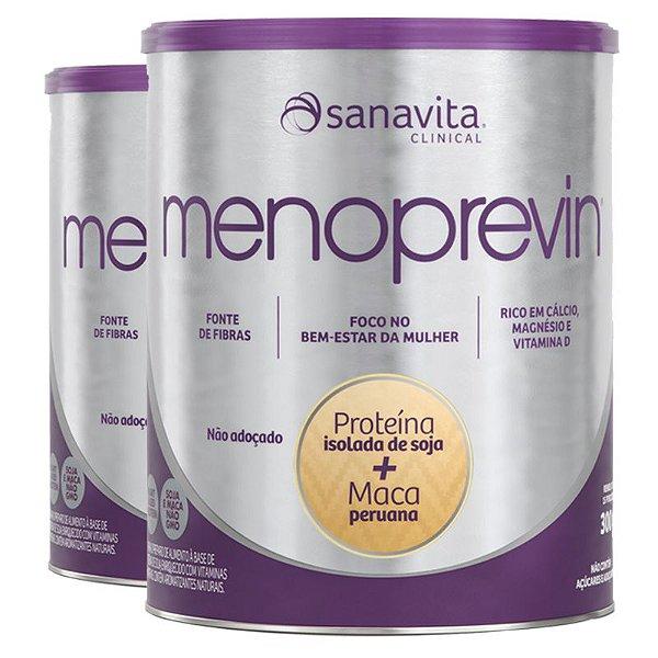 Kit 2 MENOPREVIN® Multivitamínico feminino da Sanavita 300g