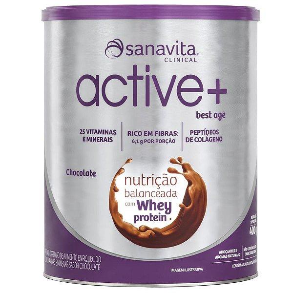 ACTIVE+ Best Age chocolate 400g Sanavita