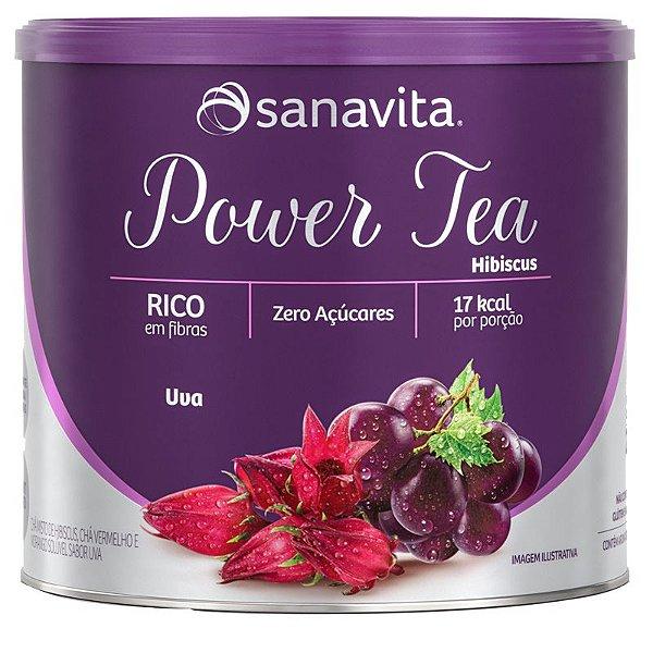 Power Tea Chá Hibiscus Uva 200g Sanavita
