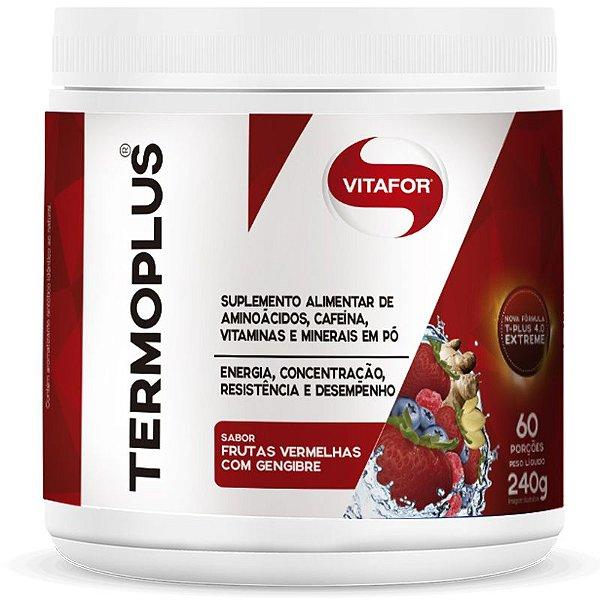 Termoplus da Vitafor 240g Sabor Frutas Vermelhas e gengibre