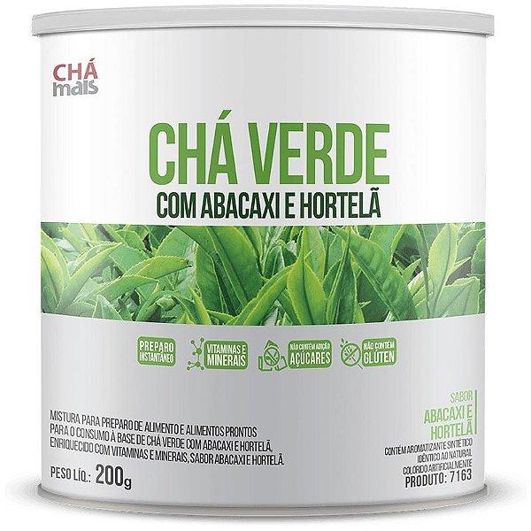 Chá Verde com Abacaxi e Hortelã 200g Chá Mais