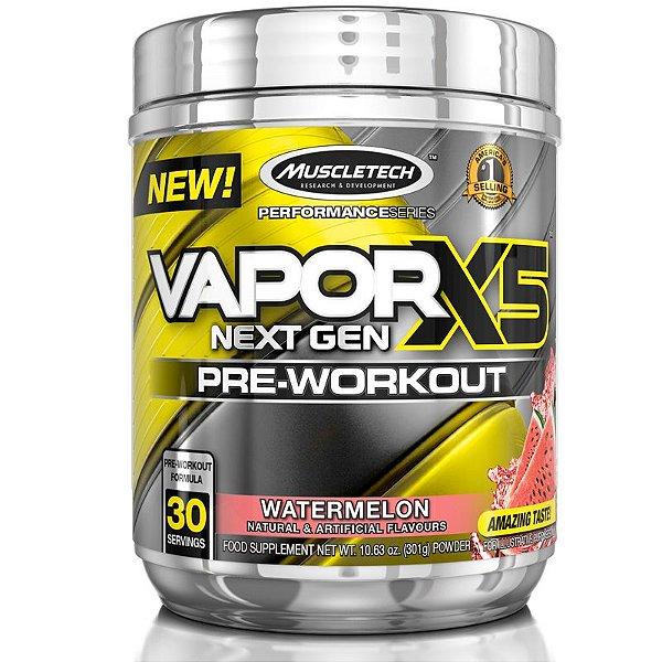 Vapor X5 Pré treino da Muscletech 30 doses - Melancia