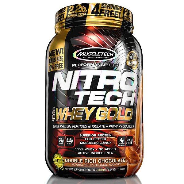 Nitro tech Whey Protein Gold Muscletech 997g Chocolate