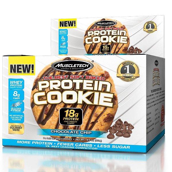 Protein Cookies Biscoitos proteicos da Muscletech Chocolate Chip