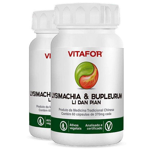 Kit 2 Lysimachia & bupleurum 60 cápsulas 420mg MTC Vitafor