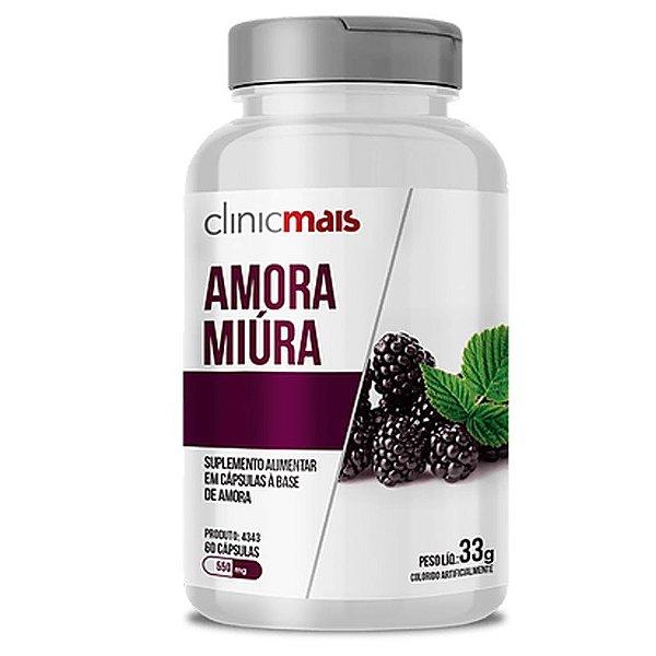 Amora Miura 500mg ClinicMais 60 cápsulas