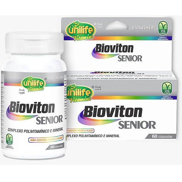 Bioviton SENIOR  Complexo Polivitamínico 60 cápsulas Unilife