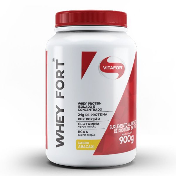 Whey Fort Vitafor 900g Abacaxi