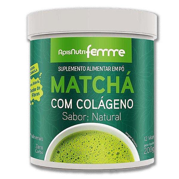 Matchá Solúvel Apisnutri Sabor Natural 200g