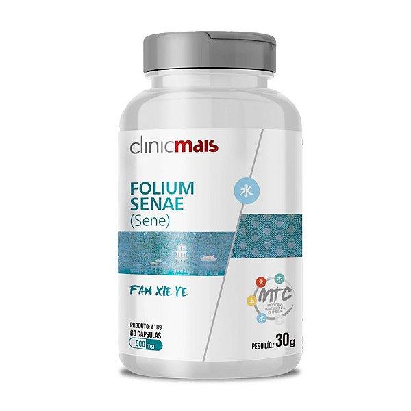 Sene Folium Senae 500mg MTC Clinic Mais 60 cápsulas